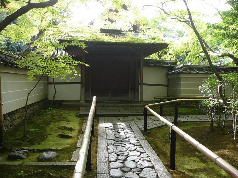 japanischer garten - gartenwege, Garten seite