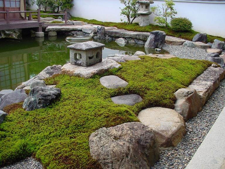 japanischer garten - japans private gärten,